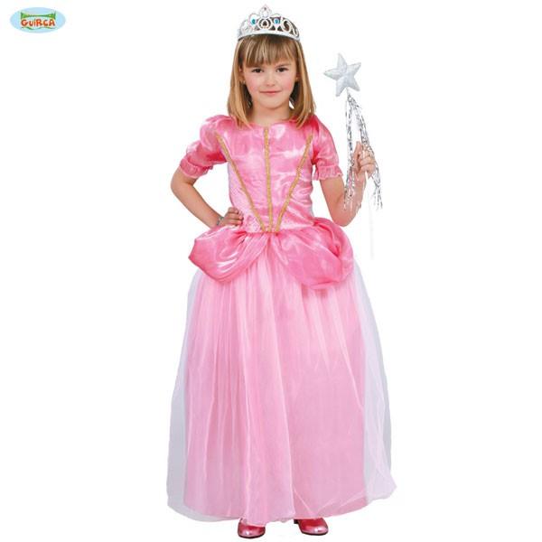 Kinderkostüm Prinzessinnenkleid 7-9