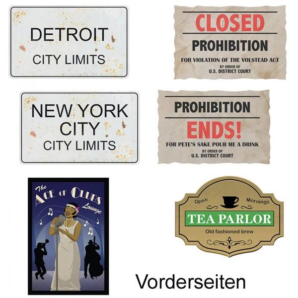 20er Jahre Partydeko Prohibition 1
