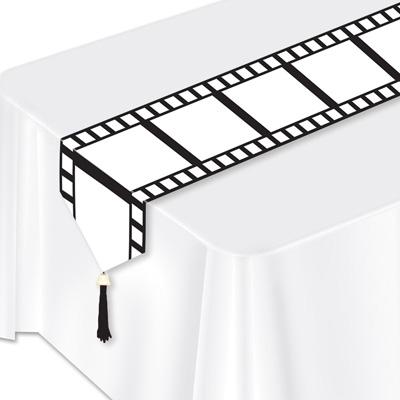 tischdeko tischl ufer filmstreifen hollywood mottoparty. Black Bedroom Furniture Sets. Home Design Ideas