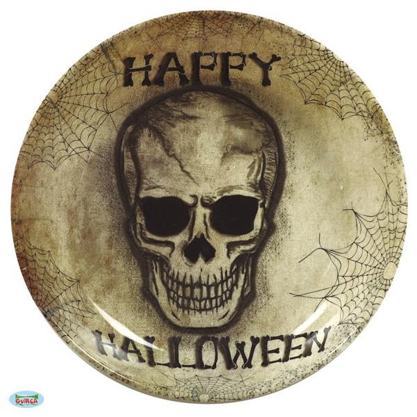 Halloweenschale Totenkopf