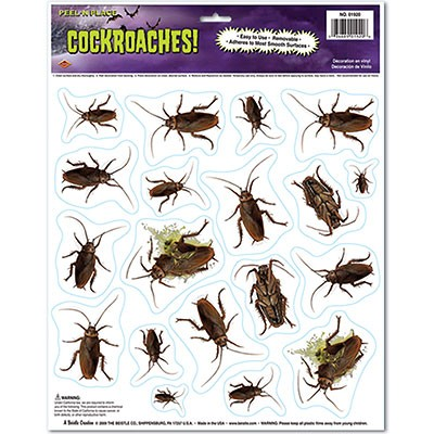 Deko-Haftbilder Kakerlaken
