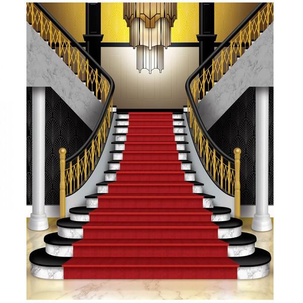Wanddeko 20er Jahre Treppe