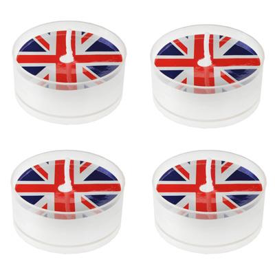 Teelichte Great Britain England Tischdeko Mottoparty