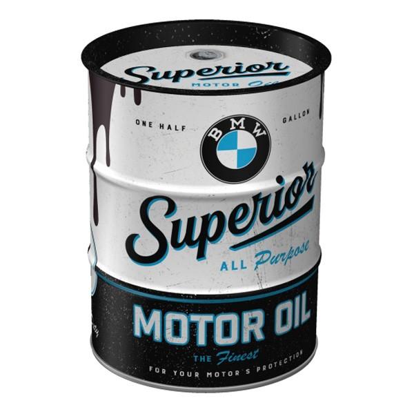 Spardose BMW Ölfass