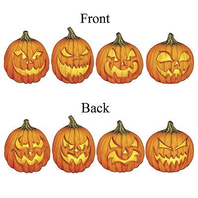halloween deko k rbis fratze k rbisgesichter geschnitzte. Black Bedroom Furniture Sets. Home Design Ideas