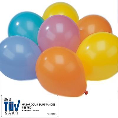 Luftballons Regenbogenfarben