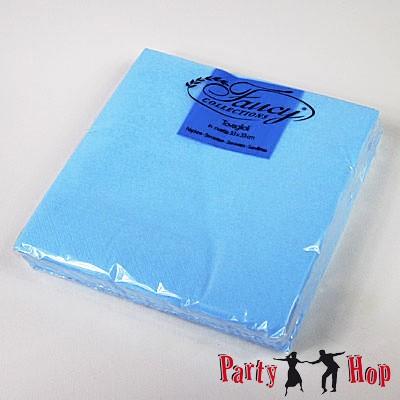 Papierservietten hellblau