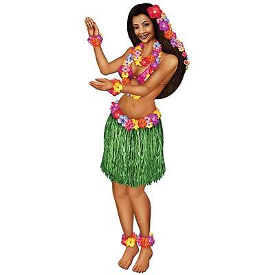 Partydeko Hula-Tänzerin