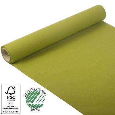 Tischläufer olivgrün