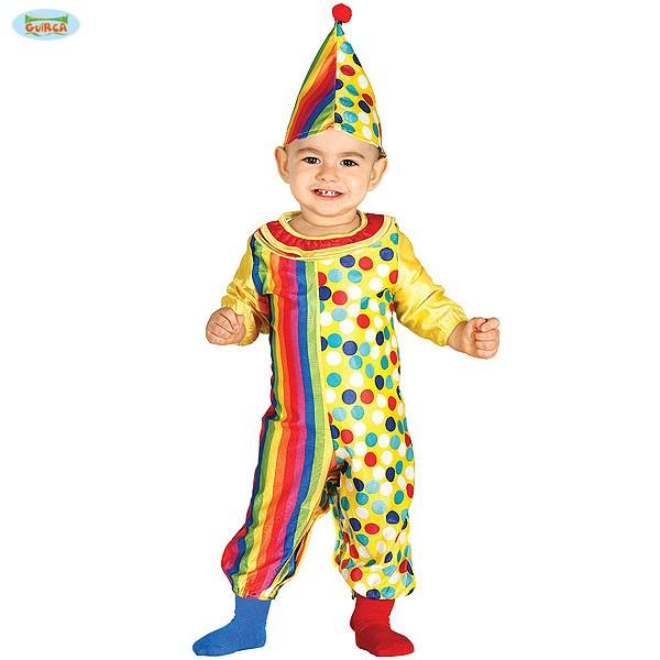 Baby Clown Kostüm 6-12 Monate