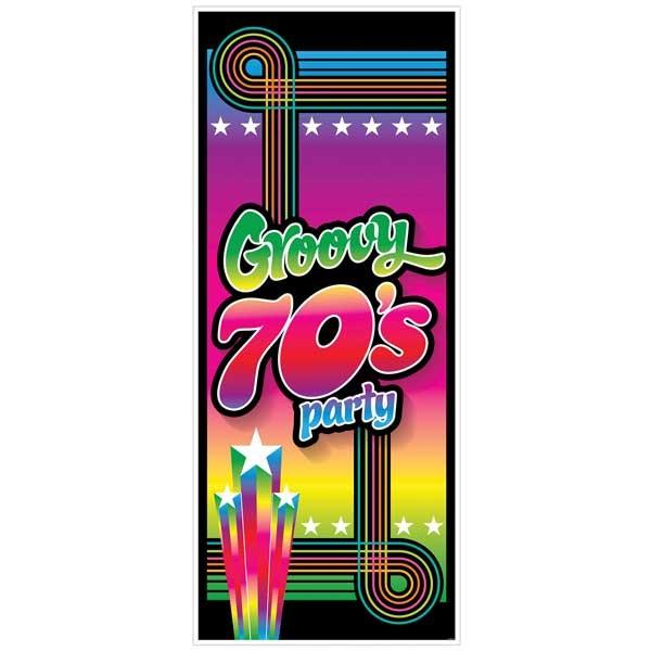 Wanddeko Groovy 70er Jahre Party