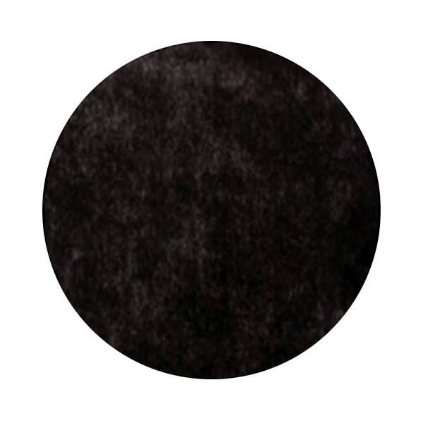 Platzsets schwarz rund