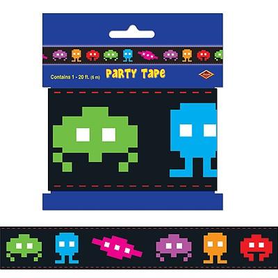 Party-Absperrband 80er Jahre Arcade Aliens