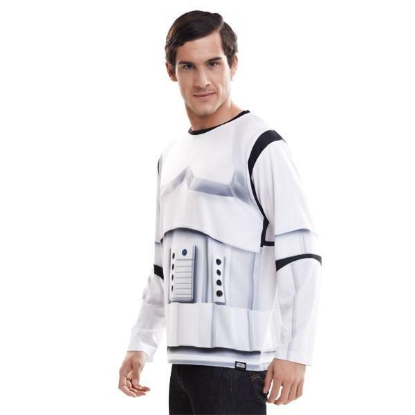 Langarm-Shirt Star Wars Stormtrooper M