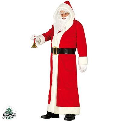 Weihnachtsmann Kostüm mit langen Mantel L