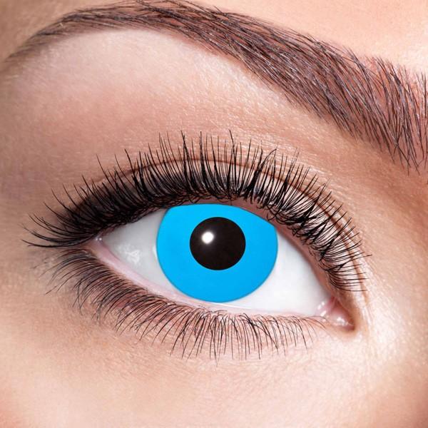 Blaue Kontaktlinsen ohne Stärke Blue Elfe
