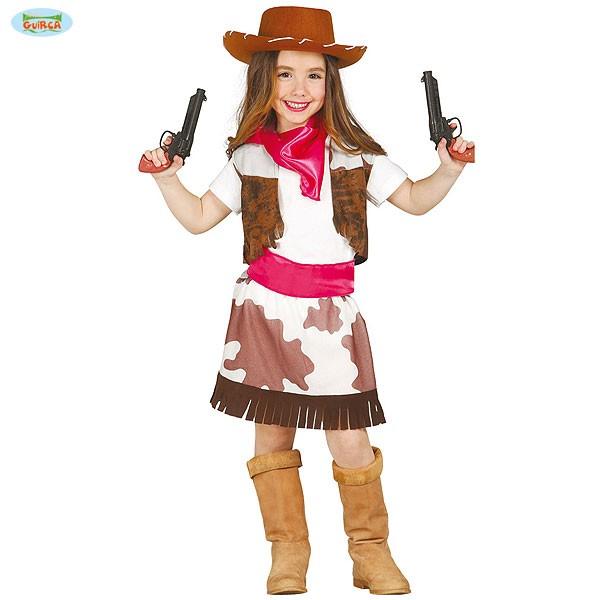 Kinder Karnevalskostüm Cowgirl 5-6 Jahre