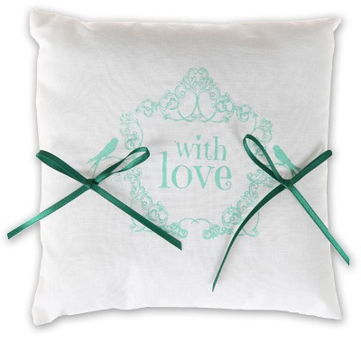 Ringkissen With Love mint