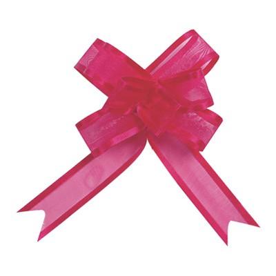 Dekoschleifen selbstraffend pink