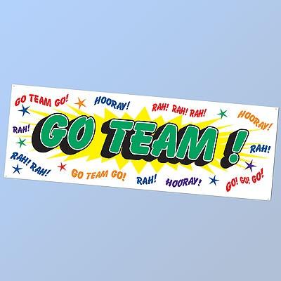 Banner Go Team