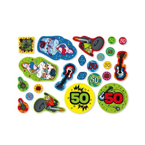 Streudeko 50 Geburtstag Xxl Konfetti Tischdekoration