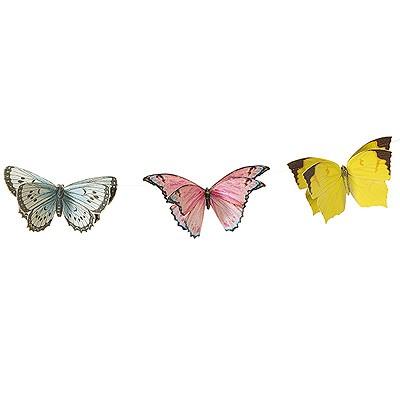 Partydeko Schmetterlinggirlande