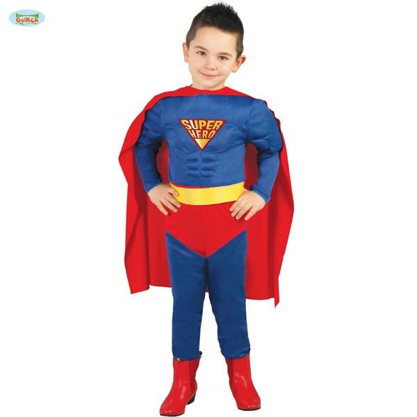 Kinderkostüm Super Hero 7-9 Jahre