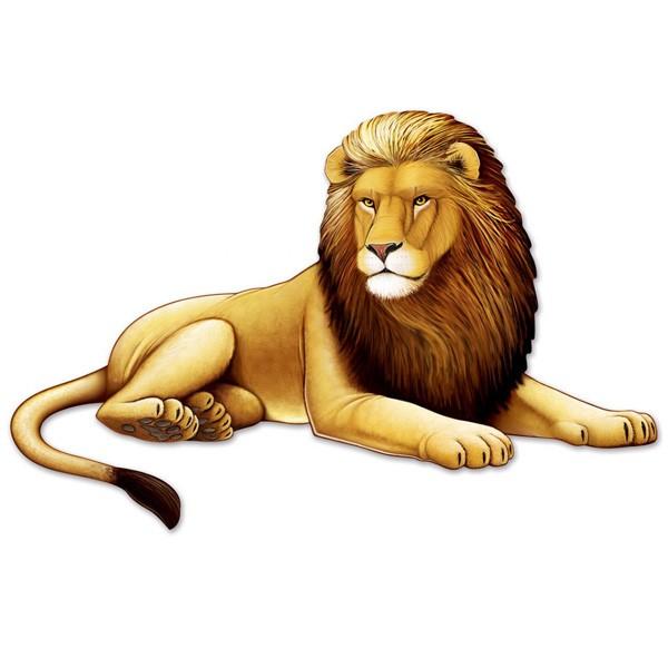 Partydeko großer Löwe