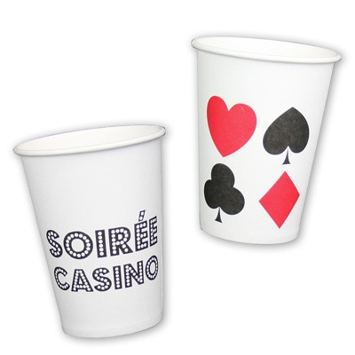 Pappbecher Casino