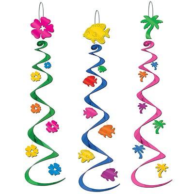 Spiralhänger Hawaii Party