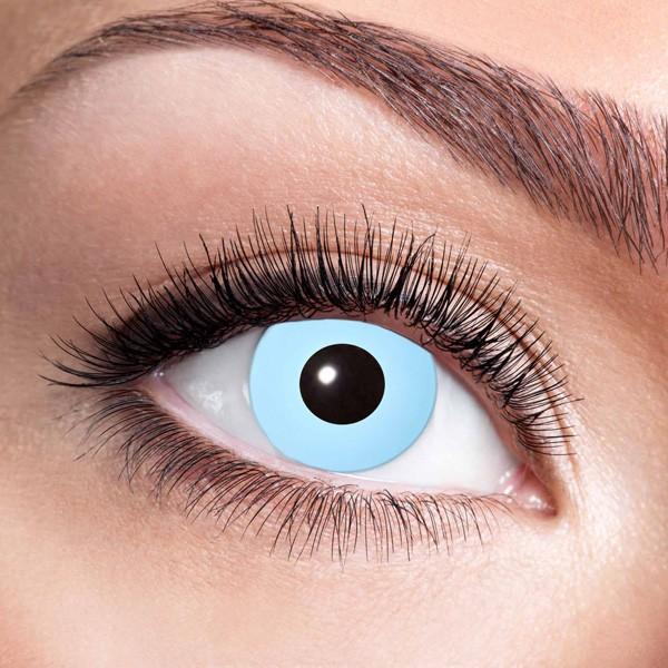Hellblaue Kontaktlinsen ohne Stärke Ice Blue