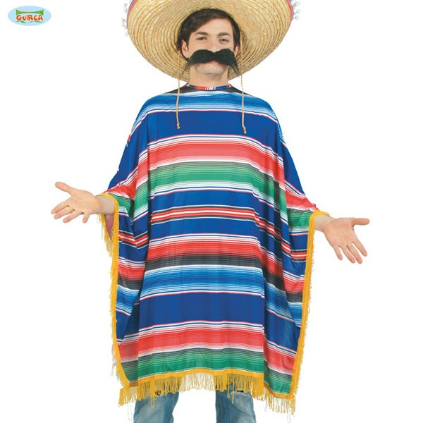 Mexikanischer Poncho Mexikanerponcho