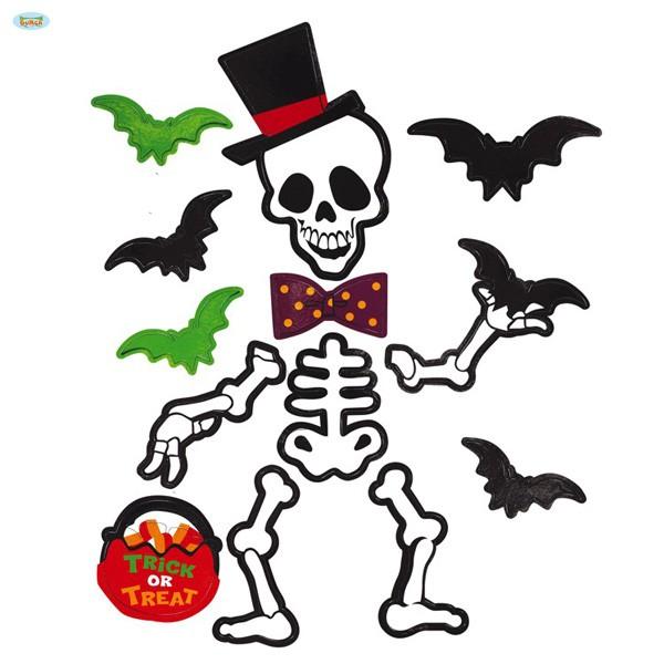 Magnetfolienbild Halloween Skelett