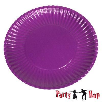 Pappteller violett