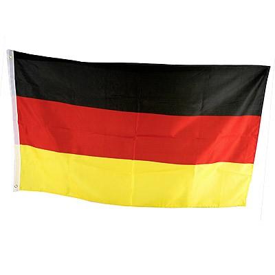 Deutschland-Fahne groß