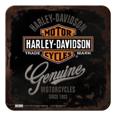glas untersetzer metall harley davidson genuine motorrad. Black Bedroom Furniture Sets. Home Design Ideas