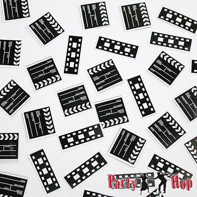 Streudeko Filmklappen und Filmstreifen