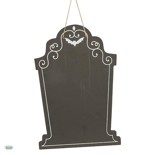 Halloweendeko Tafel Grabstein