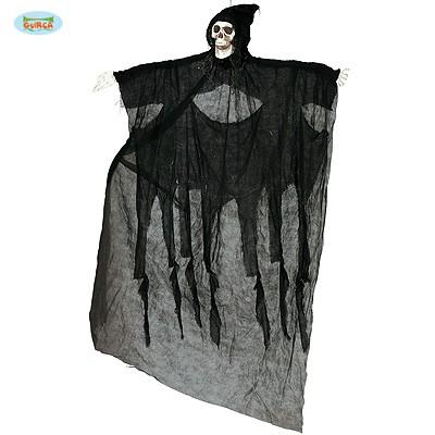 Halloweendeko Skelett mit Umhang