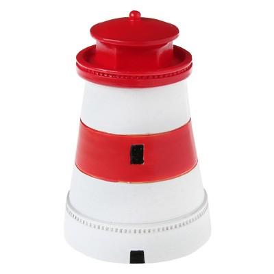 Tischdeko Deckeldose Leuchtturm