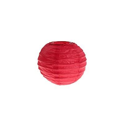 Partydeko Papierlampions rot klein 10cm