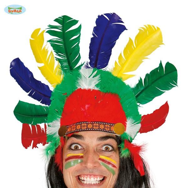 Indianer Federhaube Häuptling