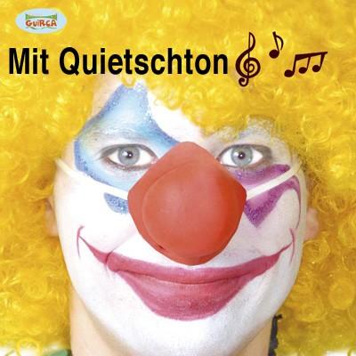 Clownnase quietschend