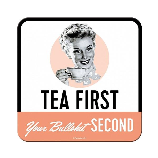 Untersetzer Tea First