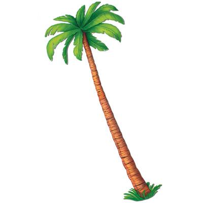 hawaii amp dschungel mottoparty dekopalme wanddeko palme