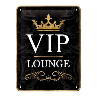 VIP Lounge Blechschild