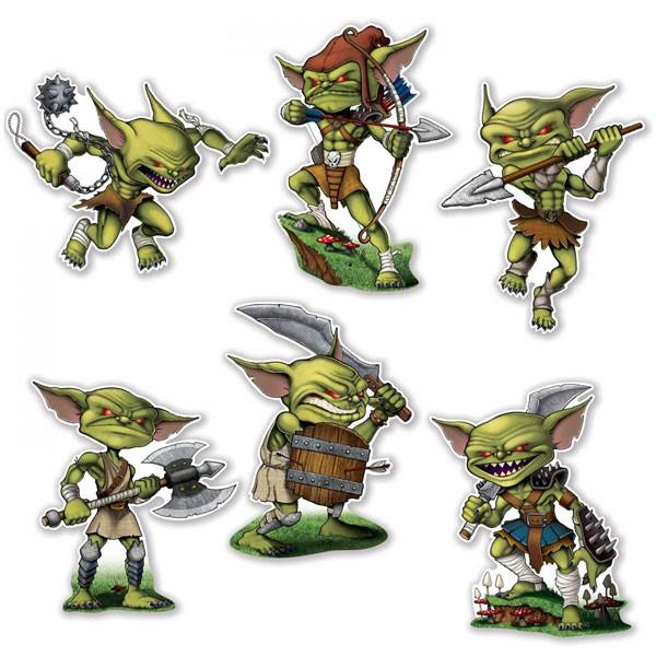 Partydeko-Set wilde Goblins