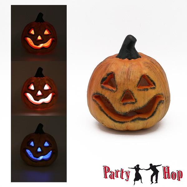 Kleiner Halloween Dekokürbis