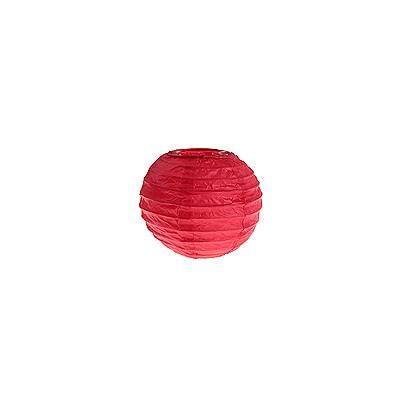 Partydeko kleine rote Papierlampions xs