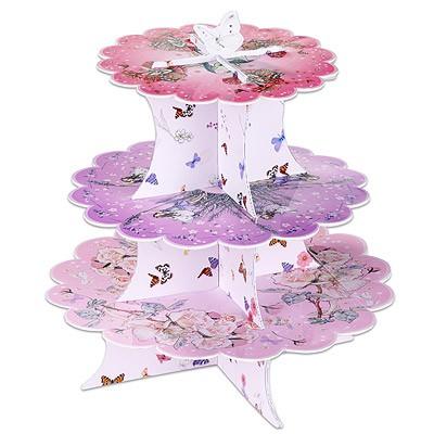 Cup Cake Ständer Blumenfeen
